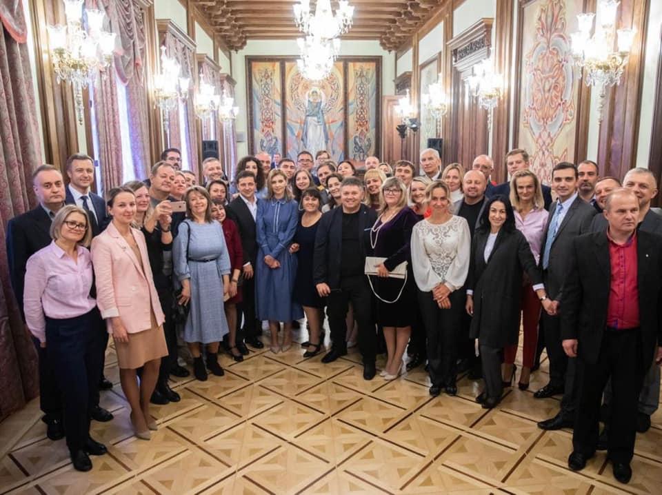 Петро Дуднiк зустрiвся з Президентом України на День усиновлення в Києвi